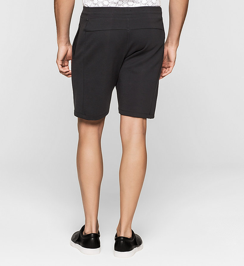 CALVINKLEIN Bonded Jersey Shorts - PERFECT BLACK - CALVIN KLEIN CLOTHES - detail image 1