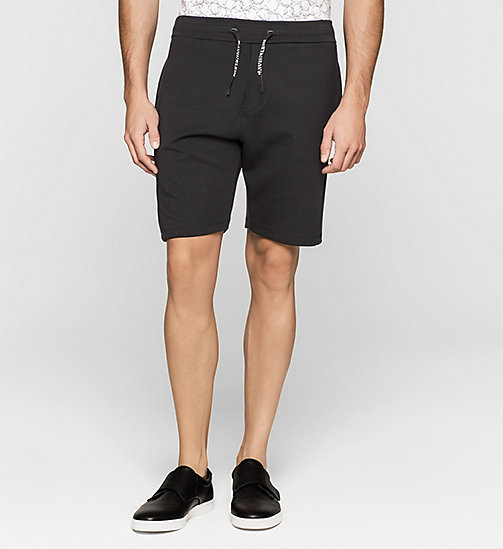 Bonded Jersey Shorts - PERFECT BLACK - CALVIN KLEIN  - main image