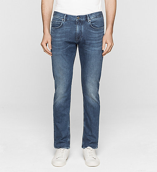 Straight-Jeans - VINTAGE BLUE - CALVIN KLEIN  - main image