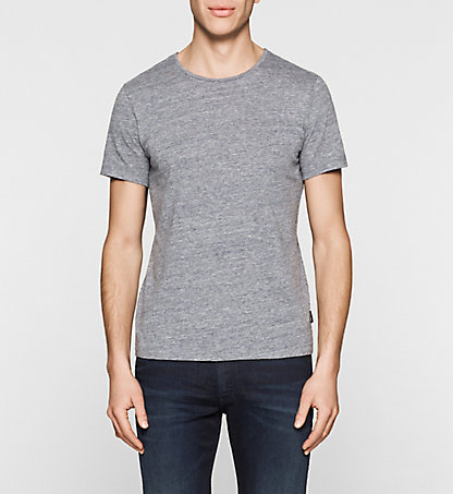CALVIN KLEIN Fitted Heathered T-shirt K10K100690407