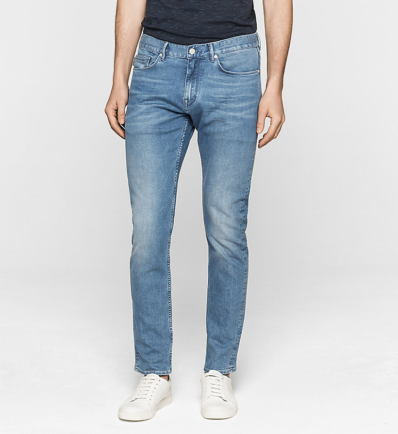 CALVINKLEIN Slim Straight Jeans - LIGHT BLUE - CALVIN KLEIN CLOTHES - main image