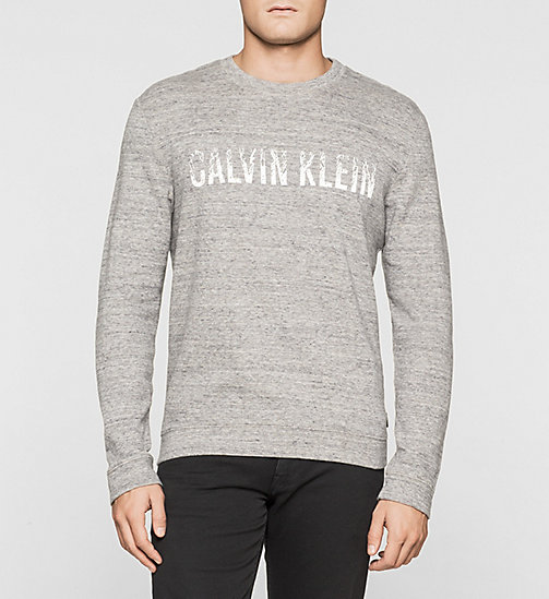CKJEANS Sweat-shirt avec logo - MEDIUM GREY - CALVIN KLEIN SOUS-VÊTEMENTS - image principale