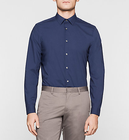 CALVIN KLEIN Fitted Cotton Stretch Shirt K10K100735407
