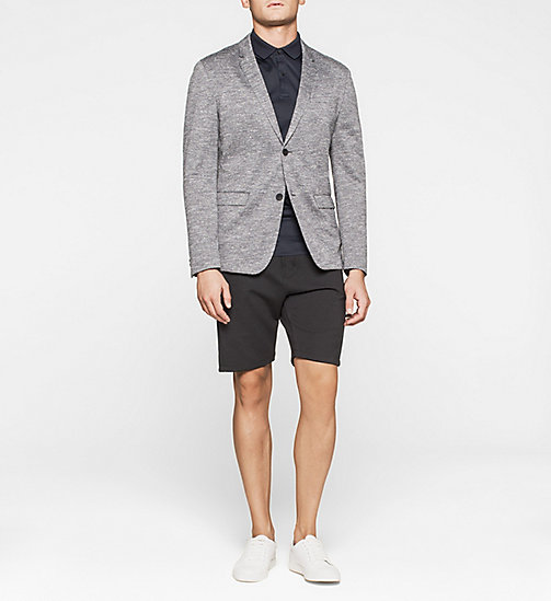 CALVINKLEIN Fitted Jersey Blazer - MORNING DAWN - CALVIN KLEIN URBAN VOYAGER - detail image 1