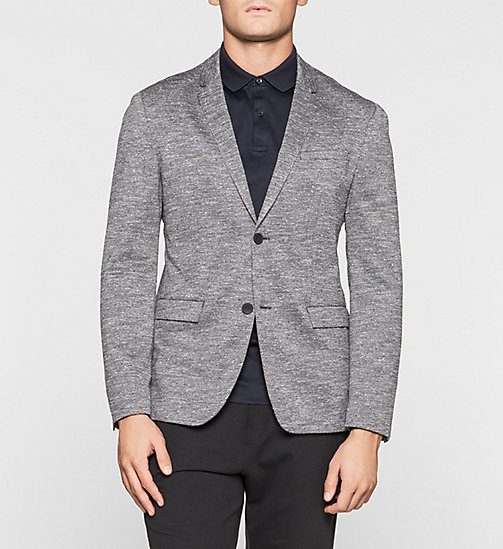 CALVINKLEIN Fitted jersey blazer - MORNING DAWN - CALVIN KLEIN BLAZERS - main image