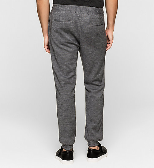 CALVINKLEIN Knit Chino Trousers - ASPHALT - CALVIN KLEIN TROUSERS - detail image 1