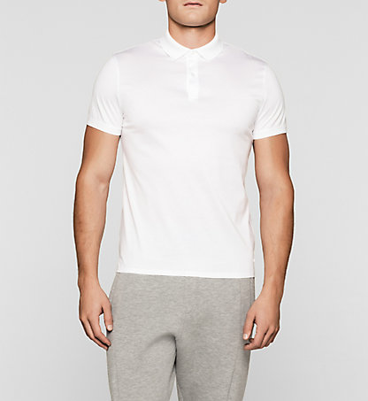 CALVIN KLEIN Fitted Polo K10K100911105