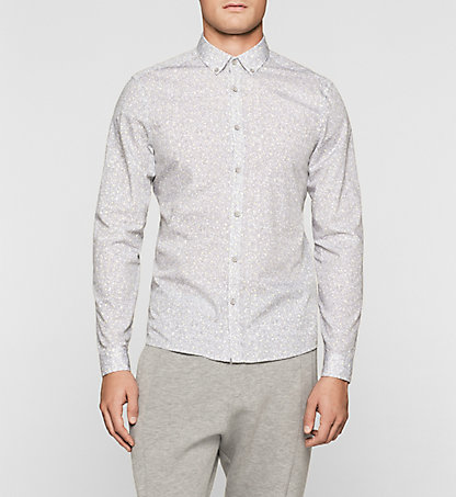 CALVIN KLEIN Fitted Printed Shirt K10K100962329