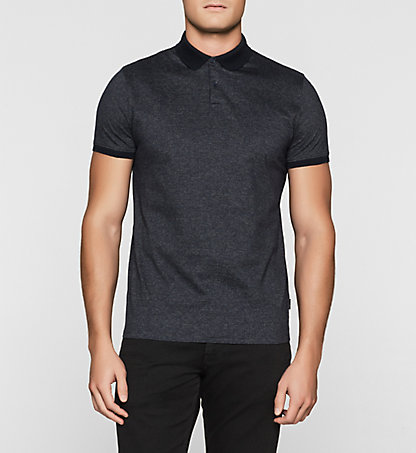 CALVIN KLEIN Fitted Jacquard Polo K10K100973478