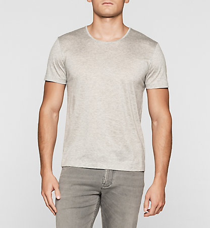 CALVIN KLEIN Fitted T-shirt K10K100979033