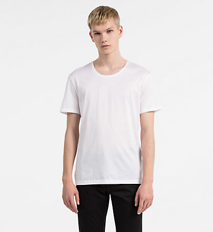 CALVIN KLEIN Fitted T-shirt K10K100979105
