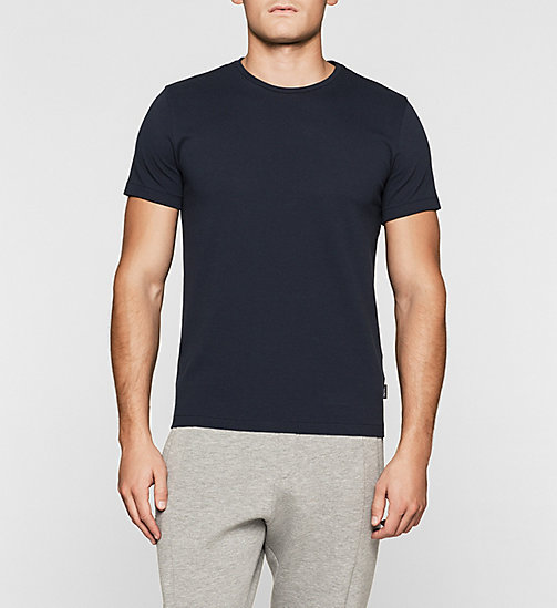 Fitted Mesh T-shirt - TRUE NAVY - CALVIN KLEIN CLOTHES - main image
