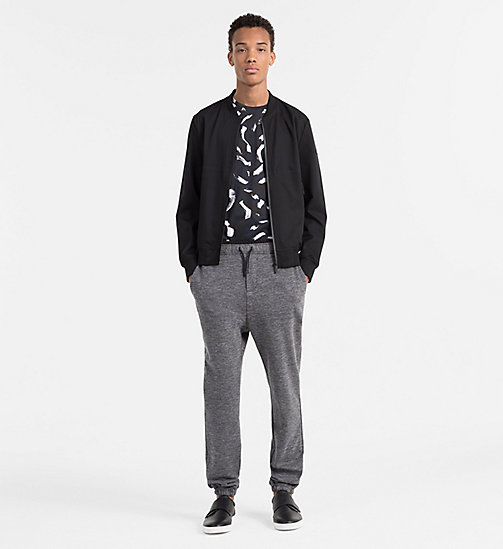 Twill-Bomberjacke - PERFECT BLACK - CALVIN KLEIN  - main image 1