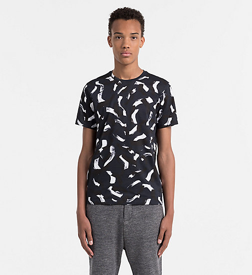 CALVINKLEIN Fitted T-shirt met print - OUTER SPACE - CALVIN KLEIN WORK TO WEEKEND - main image