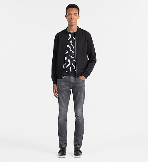 CALVINKLEIN Printed Sweatshirt - OUTER SPACE - CALVIN KLEIN WORK TO WEEKEND - detail image 1