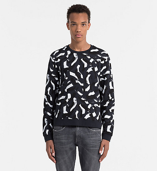 CALVINKLEIN Printed Sweatshirt - OUTER SPACE - CALVIN KLEIN WORK TO WEEKEND - main image
