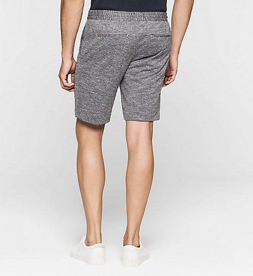 CALVINKLEIN Heathered Jersey Shorts - MORNING DAWN - CALVIN KLEIN CLOTHES - detail image 1
