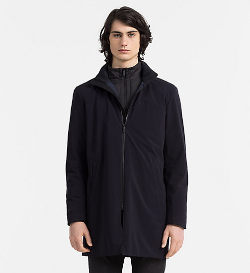 CALVINKLEIN 2-in-1 Parka Coat - TRUE NAVY - CALVIN KLEIN COATS - main image