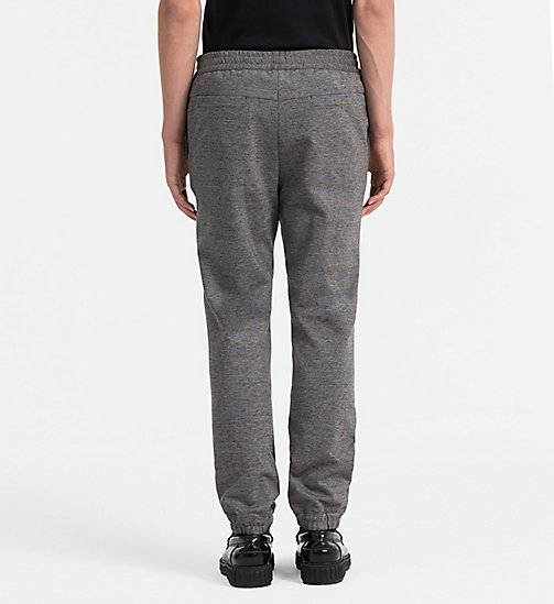CALVINKLEIN Textured Jersey Trousers - ALLOY - CALVIN KLEIN TROUSERS - detail image 1
