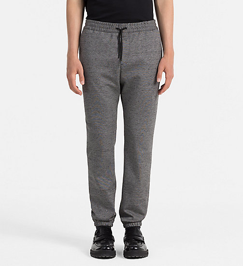 CALVINKLEIN Textured Jersey Trousers - ALLOY - CALVIN KLEIN TROUSERS - main image