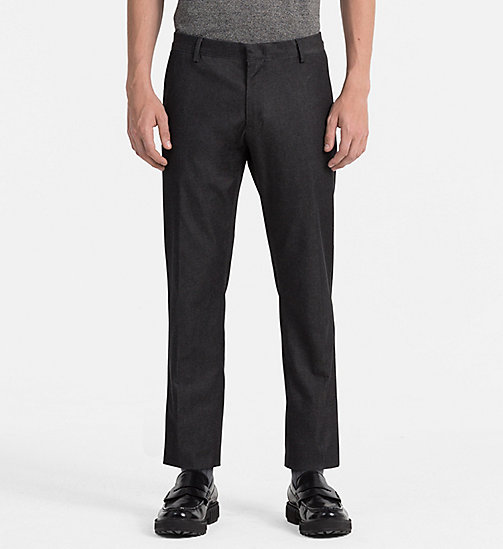 CALVINKLEIN Slim Denim Trousers - TRUE NAVY - CALVIN KLEIN MODERN CLASSIC - main image