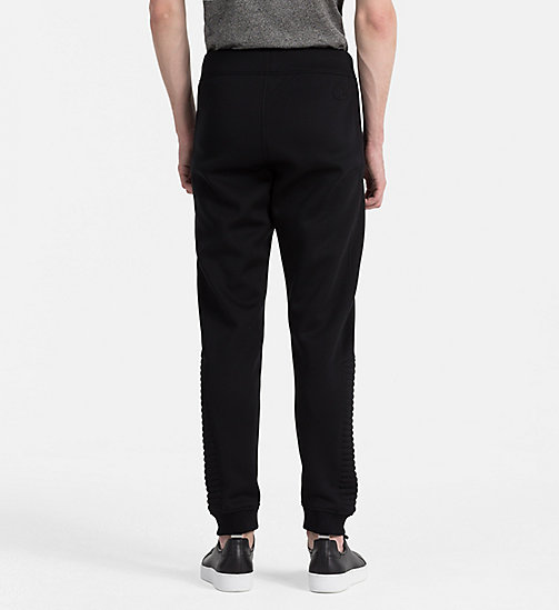 CALVINKLEIN Biker Sweatpants - PERFECT BLACK - CALVIN KLEIN JOGGING BOTTOMS - detail image 1