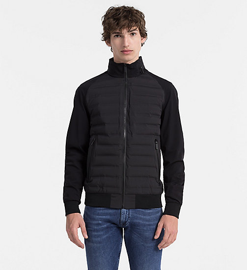 CALVINKLEIN Quilted Down Jacket - PERFECT BLACK - CALVIN KLEIN NEW ARRIVALS - main image