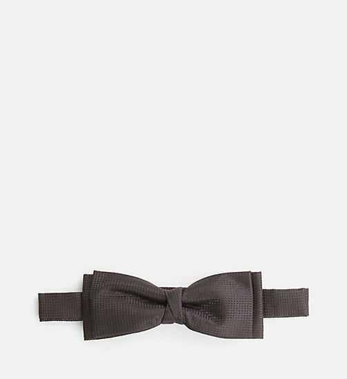 CALVINKLEIN Silk Bow Tie - PERFECT BLACK - CALVIN KLEIN TIES - main image