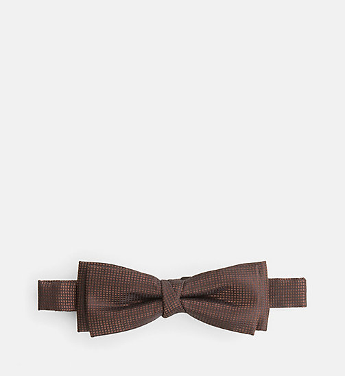 CALVINKLEIN Silk Bow Tie - ZINFANDEL - CALVIN KLEIN SHOES & ACCESSORIES - main image