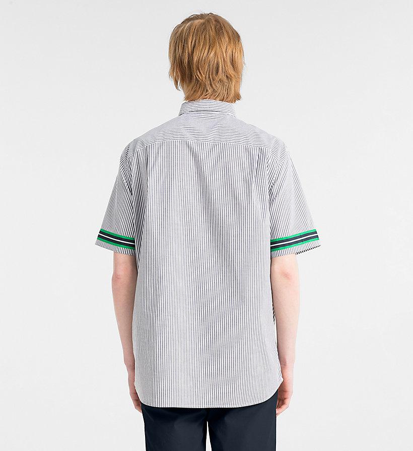 Calvin Klein - Short-Sleeve Stripe Shirt - 3