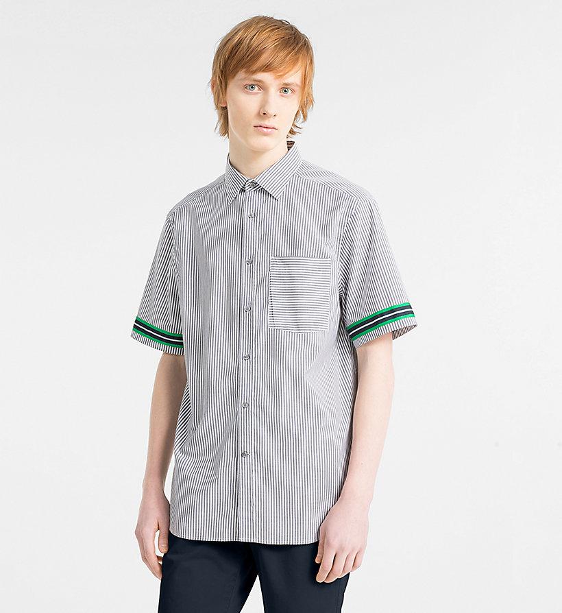 Calvin Klein - Short-Sleeve Stripe Shirt - 1