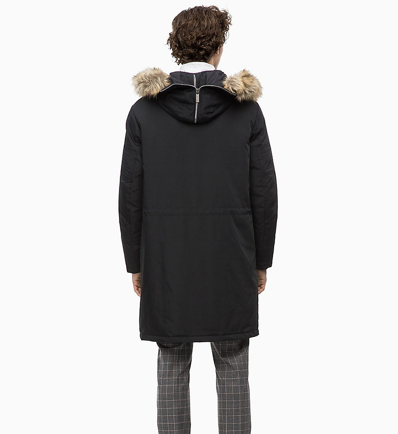 Calvin Klein - Canvas Down Parka Coat - 2