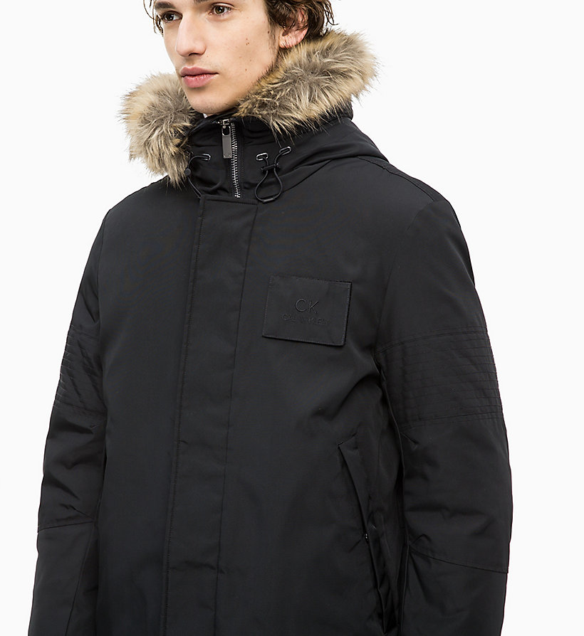 Calvin Klein - Canvas Down Parka Coat - 3