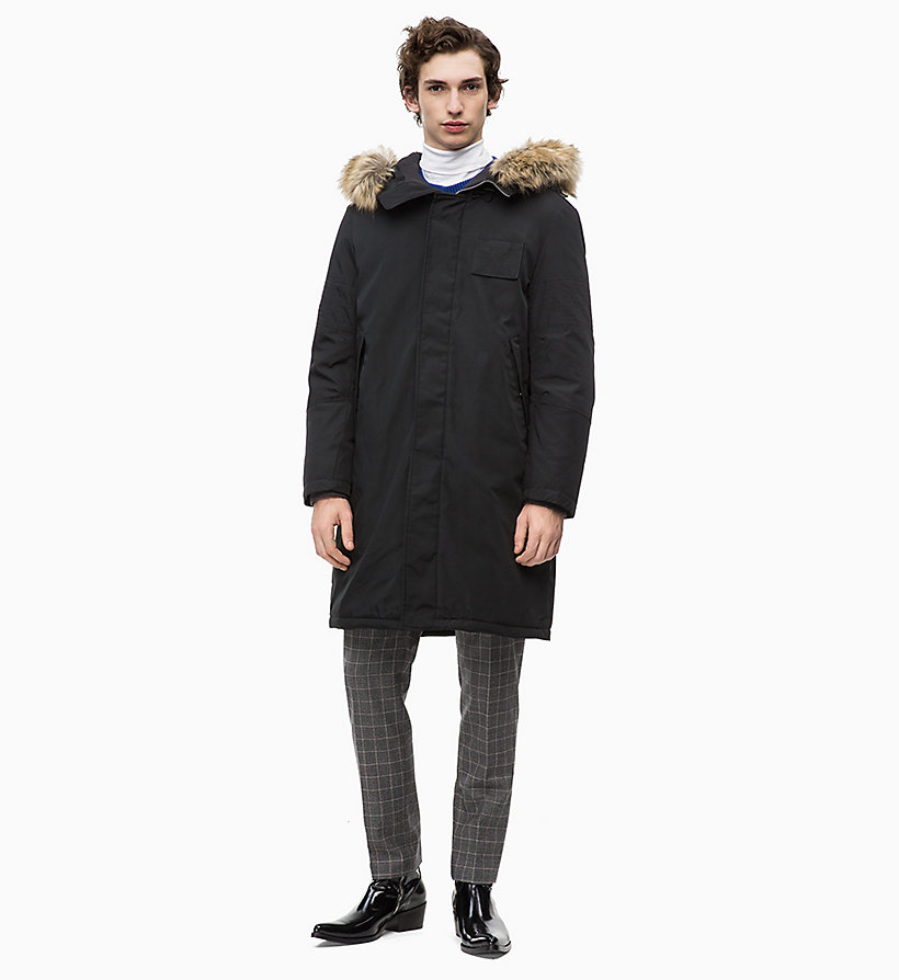 Calvin Klein - Canvas Down Parka Coat - 5