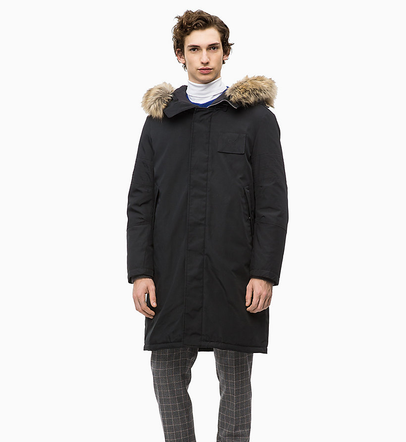 Calvin Klein - Canvas Down Parka Coat - 1
