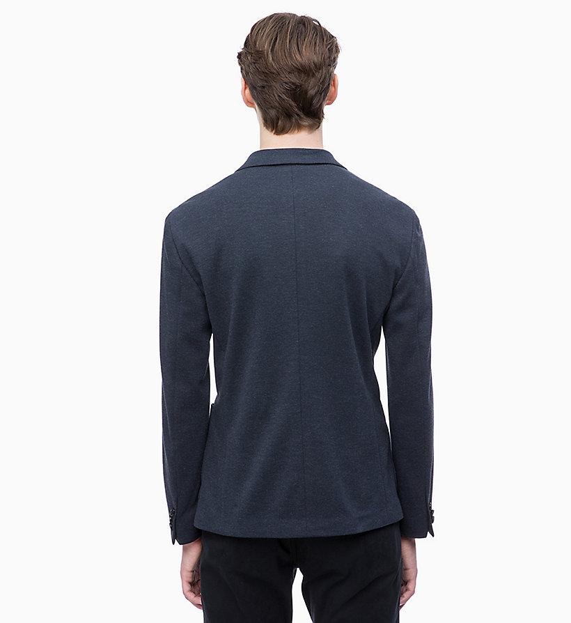 Calvin Klein - Fitted Piqué Jersey Blazer - 3