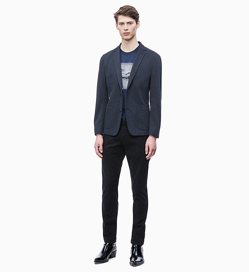 Calvin Klein - Fitted Piqué Jersey Blazer - 5