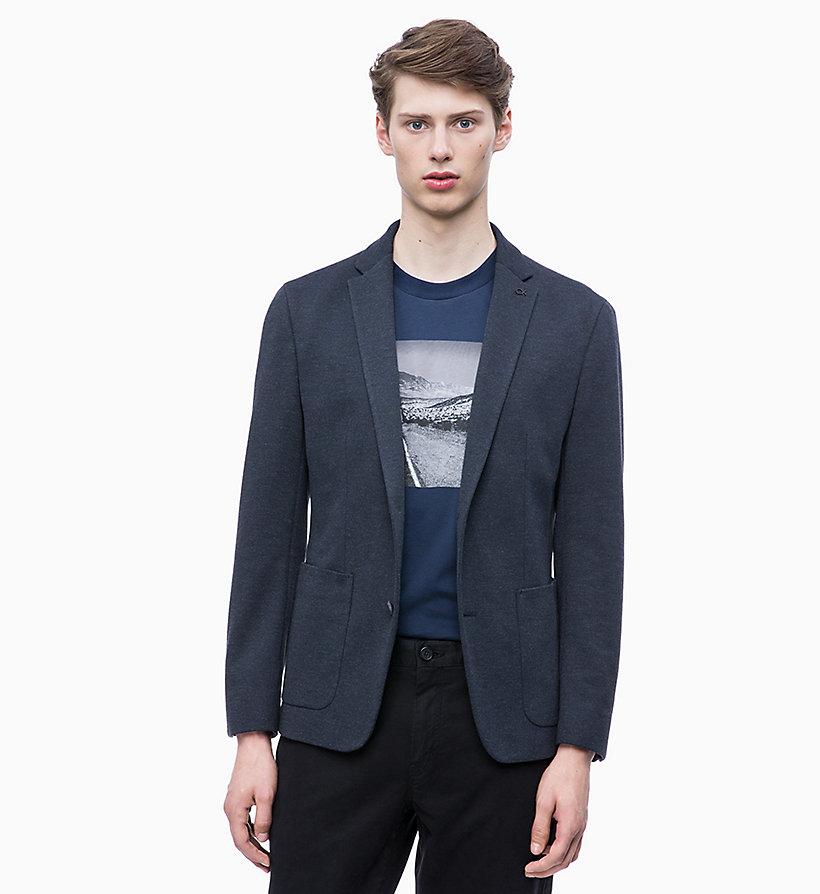 Calvin Klein - Fitted Piqué Jersey Blazer - 1