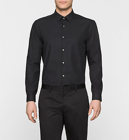 CALVIN KLEIN Fitted Dress Shirt - Walker K1EK100813013