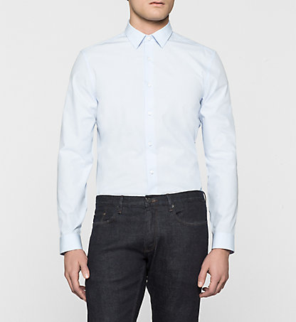 CALVIN KLEIN Fitted Dress Shirt - Walker K1EK100813645