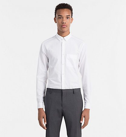 CALVIN KLEIN Oxford Cotton Shirt - Gatak K1EK101700105