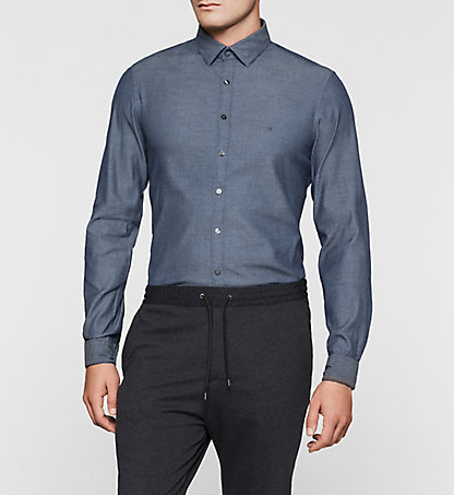 CALVIN KLEIN Slim Dress Shirt - Bari K30K300017472