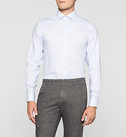 CALVIN KLEIN Fitted Dress Shirt - Rome K30K300036400