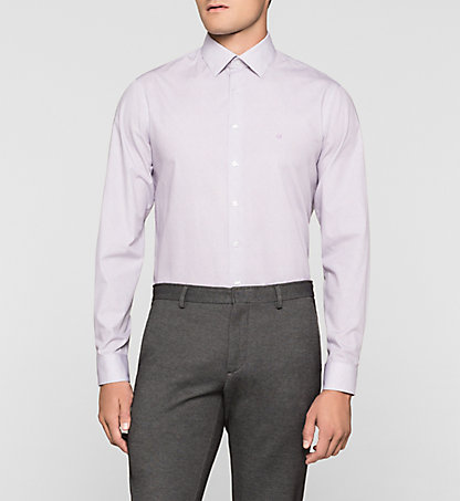 CALVIN KLEIN Fitted Dress Shirt - Cannes K30K300048543