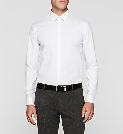 CALVIN KLEIN Slim Dress Shirt - Bari K30K300051457