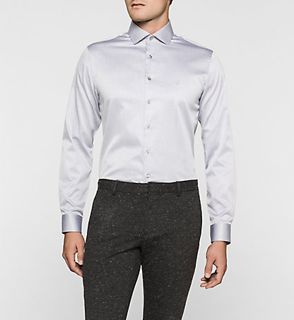 CALVIN KLEIN Fitted Dress Shirt - Rome K30K300058061