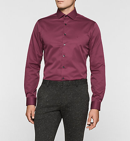 CALVIN KLEIN Fitted Dress Shirt - Rome K30K300058942