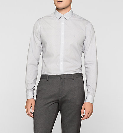 CALVIN KLEIN Fitted Dress Shirt - Bari K30K300081012