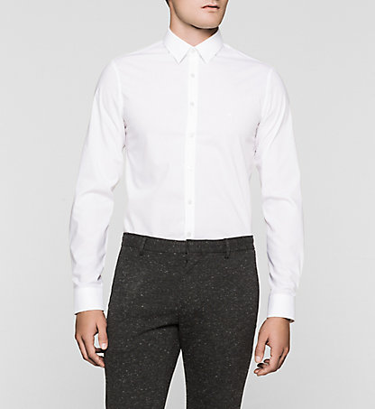 CALVIN KLEIN Slim Dress Shirt - Marseille K30K300082100