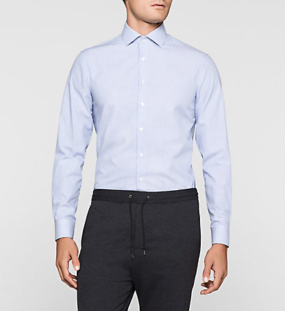 CALVIN KLEIN Fitted Dress Shirt - Rome K30K300098455
